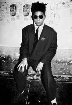 Jean-Michel Basquiat NYC 1985