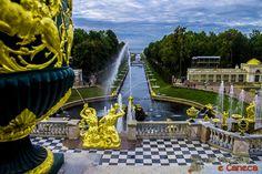 Canal do mar - Peterhof