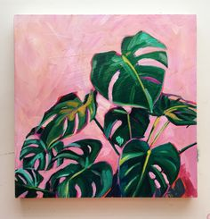 Malerei Acrylic plants, plants Orchids How To Keep Them Alive My mother has recently taken Plant Painting, Plant Art, Painting & Drawing, Cactus Painting, Cute Canvas Paintings, Mini Canvas Art, Colorful Paintings, Aesthetic Painting, Aesthetic Art