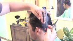 Corte de cabelo masculino 2016 | Detalhado - TODO NA TESOURA