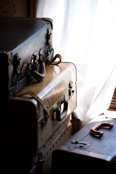 Old Suitcases by Dcysiv Moment Safari Chic, Remus Lupin, Narnia, Outlander, Ask The Dust, Credence Barebone, Jane Porter, Harry Potter Aesthetic, Old Suitcases