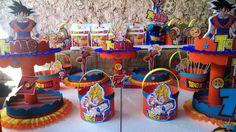 centros de mesa de dragon ball z - Buscar con Google