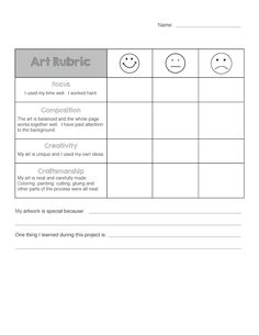 Do you use rubrics for self-assessment with your students?   I developed this rubric based on others I had seen online.  I wanted to get my students thinking more about their artwork and writing a few sentences in reflection.  We … Read more... →