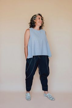Darlow pants pattern – inthefolds