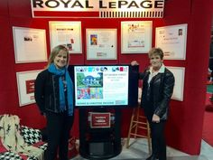 Barb Ginson & Kathy Willoughby, Sales Representatives / 2015 St.Thomas Home Show