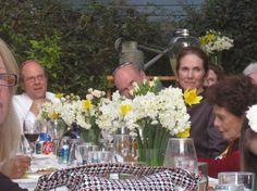 Wedding Table with Daffodils