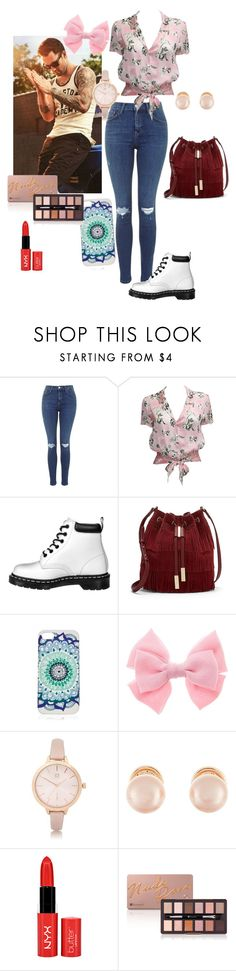 """my day out with adam"" by chihuahuagirl ❤ liked on Polyvore featuring Adam Levine, Karl Lagerfeld, Dr. Martens, Vince Camuto, River Island and Kenneth Jay Lane"