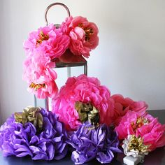 Pearl and Earl - Fiesta Flower - Giant Hot Pink, £12.00 (http://www.pearlandearl.co.uk/fiesta-flower-giant-hot-pink/)