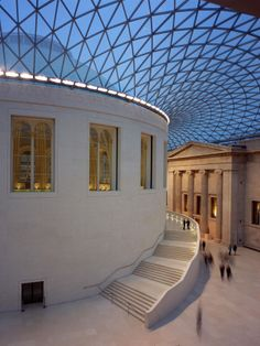 Great Court, British Museum, London, UK http://musapietrasanta.it/content.php?menu=le_imprese