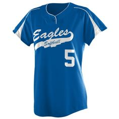 Ladies Diamond Softball Jersey by Augusta Sportswear Style Number 1225 Softball Jerseys, Fastpitch Softball, Augusta Sportswear, Number, Diamond, Lady, Stuff To Buy, Tops, Style