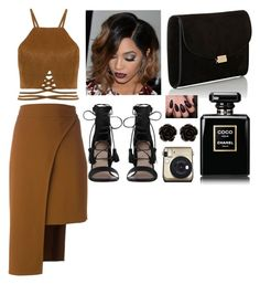 """""""Untitled #2194"""" by cheresh ❤ liked on Polyvore featuring Cushnie Et Ochs, Zimmermann, Mansur Gavriel and Erica Lyons"""