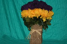 silk arrangement selling for $95.00