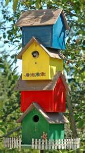 Birdhouse stack...