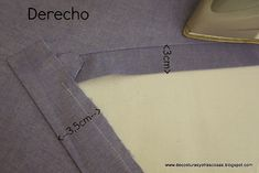 planchado-escote Sewing Basics, Sewing Hacks, Sewing Tutorials, Sewing Clothes, Diy Clothes, Sewing Collars, Shirt Hacks, Sewing Circles, Sewing Lessons