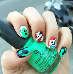 When there's something strange in your nail-borhood, who you gonna call? (Hyuck hyuck.)