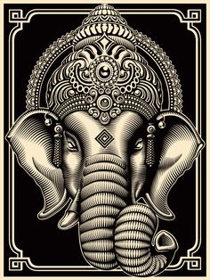 Lord Ganesh, remover of obstacles.