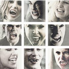 Fangs.....Klaus and Damon definitely have the best vampire faces