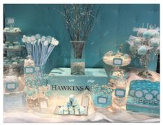 @Joanne Garza..I have most of these vases...they want a dessert table for KD shower...what do ya think?