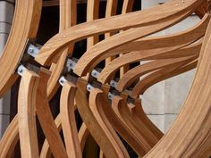 LDF 2011: Timber Wave at the V&A in news events art architecture  Category