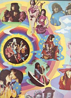 Collage of the Fool,he did work at Apple,work with The Beatles. Retro Aesthetic, Album Art, Psychedelic Art, Art Inspo, Hippie Art, Hippie Culture, Psychedelic Poster, Art, Pop Art