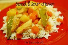stick a fork in it: crockpot sweet & sour chicken