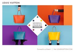 """Louis Vuitton """"Choose Your Color"""""""