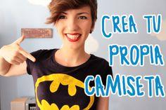 Crea tu propia camiseta ¡fácil y barato! - EL RINCÓN DEL MANITAS - YouTube