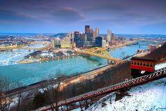 Winter in Pittsburgh, Pennsylvania