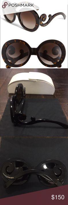 e23247ad8b47 ... promo code for new authentic prada baroque square sunglasses new prada  baroque sunglasses style square pr
