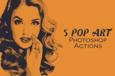 Create beautiful Instant Pop Art using our 5 high quality Photoshop actions. Easy to use. . This action has been tested and works on Photoshop CS2, CS3.