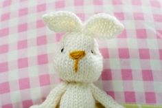 Bramble Bunny and Outfits - free knitting pattern download from Let's Knit!