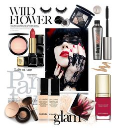 """Party Glam"" by ellie366 ❤ liked on Polyvore featuring beauty, Eve Lom, MAC Cosmetics, Dolce&Gabbana, Guerlain, Benefit, Christian Dior, Bobbi Brown Cosmetics, Urban Decay and Nude by Nature"
