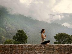 Meditating in Uma by COMO, Punakha. #Bhutan