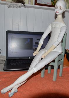 авторская кукла, выкройка куклы