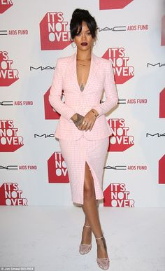 Rihanna in Altuzarra - The MAC AIDS Fund premiere of the new documentary 'It's Not Over' in Los Angeles.  (November 2014)