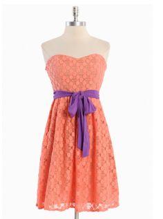 Sorbet Dessert Tube Dress