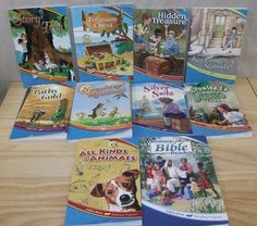 Abeka reading program 2nd grade set homeschooling lot of 10 including