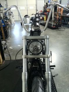 Our New 14 Incher Perfect Fit Dyna Ape Hangers - Harley Riders USA Forums