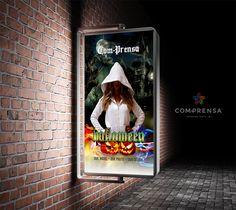 Trick-or-treat...?  Docura ou Travessura...?  Happy Halloween!! Feliz Halloween!! Com-Prensa Our Model Our Photo Our Design