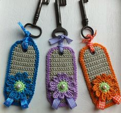 Would make cute luggage tags!