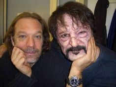 2 of the absolute best artists in the world. Tom savini and greg nicotero, still not the best though.