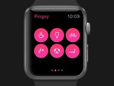 Pingsy for Apple Watch #01