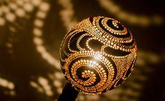 Die Kokosnuss-Lampe