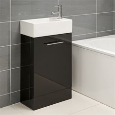 black vanity units for bathroom. Bathroom Corner Vanity on Units Gloss Black Coco Floor  Mounted Toilets I could so use this Innovative Ideas