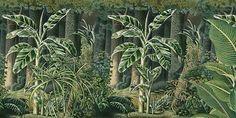 Papier peint panoramique Bornéo (Ananbô)