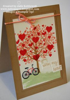 Stampin' Up! UK Independent Demonstrator - Julie Kettlewell: Sheltering Tree