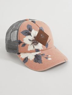 O 'Neill Hacienda Trucker Hat - Damen-Accessoires Hat Hairstyles, Fashion Hairstyles, Cute Hats, Outfits With Hats, Women's Accessories, Costume Accessories, Baseball Hats, Baseball Field, Creations