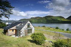 Leachachan Barn and Loch Duich