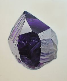 Carly Waito, Amethyst, oil on panel