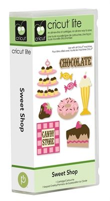 Cricut Lite Sweet Shop cartridge--I want this one, too.